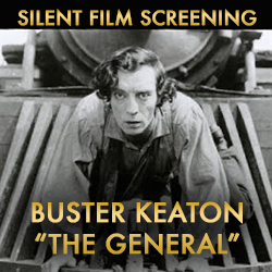 Silent Film - Buster Keaton's The General & Three Ages